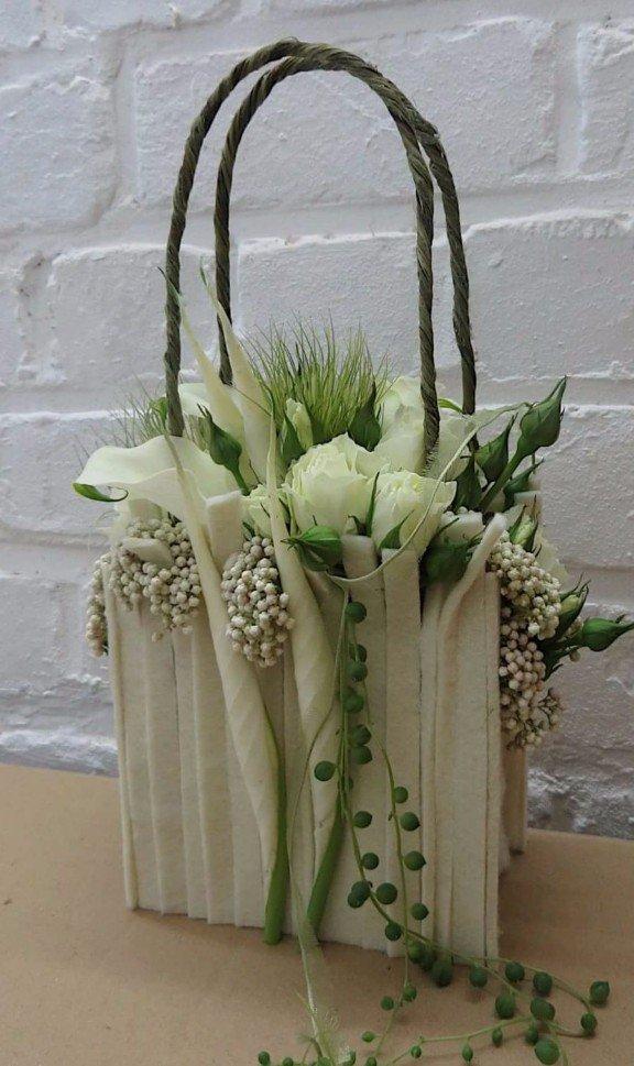 borsa floreale
