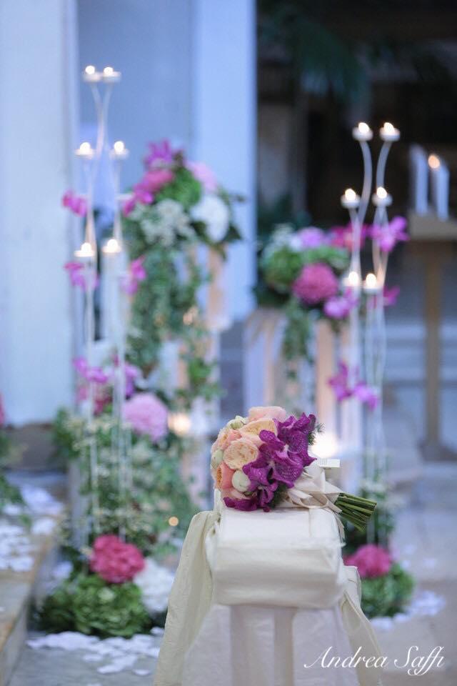 bouquet fucsia e rosa