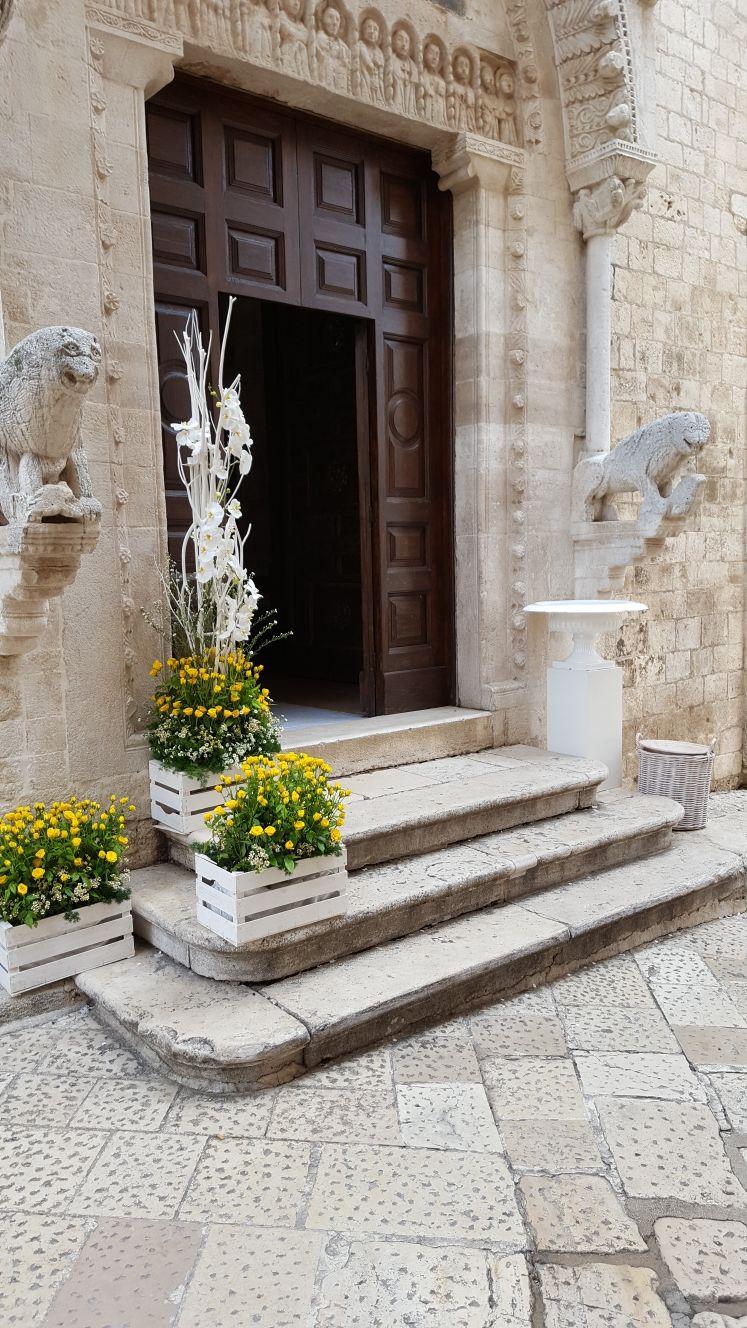 allestimento esterno chiesa