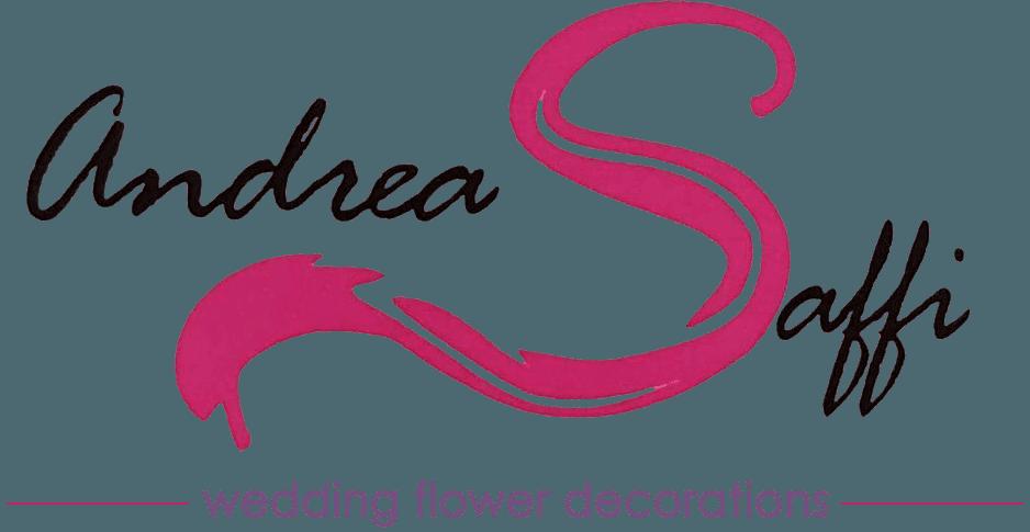 FIORISTA ANDREA SAFFI FLOWER DESIGN logo