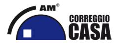 AM CORREGGIO CASA - Logo