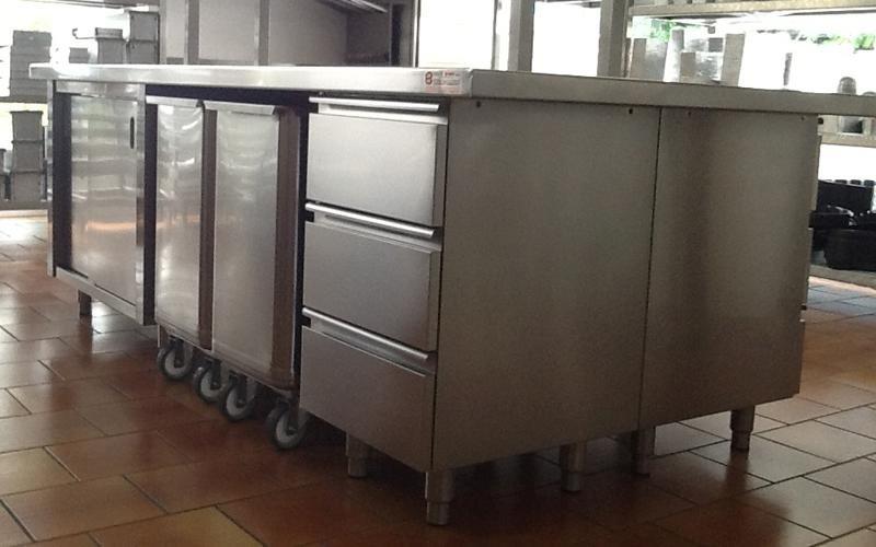 Tavolo Da Lavoro Acciaio : Produzione tavoli da lavoro per panifici padova bano e