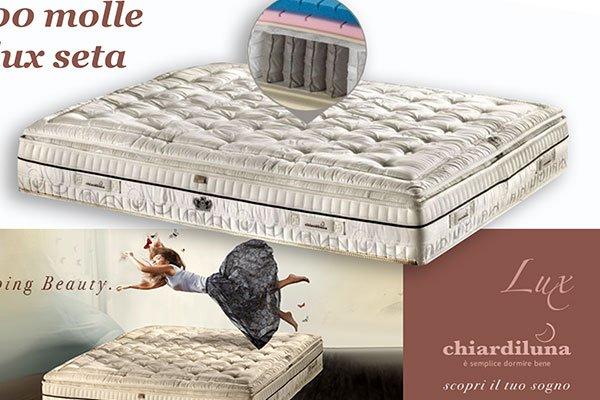 un materasso Lux Chiaro Di Luna