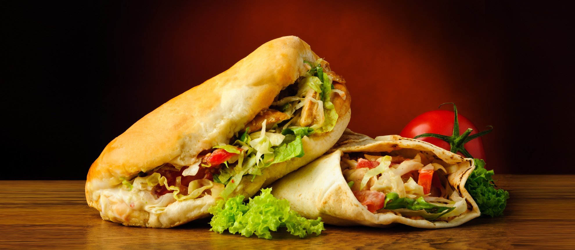Mouth-watering wraps