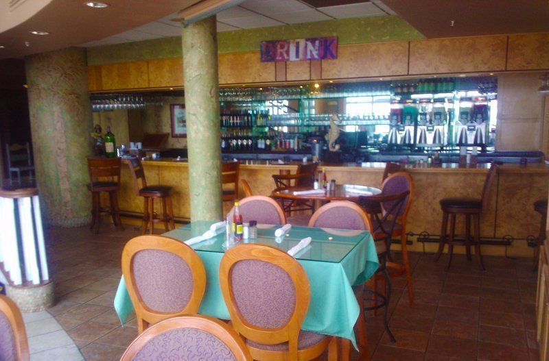 seafood restaurant interior