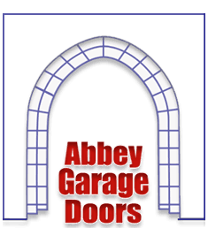 Abbey garage doors logo