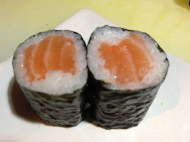 maki di salmone
