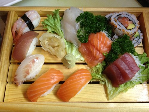 sushi misto giapponese