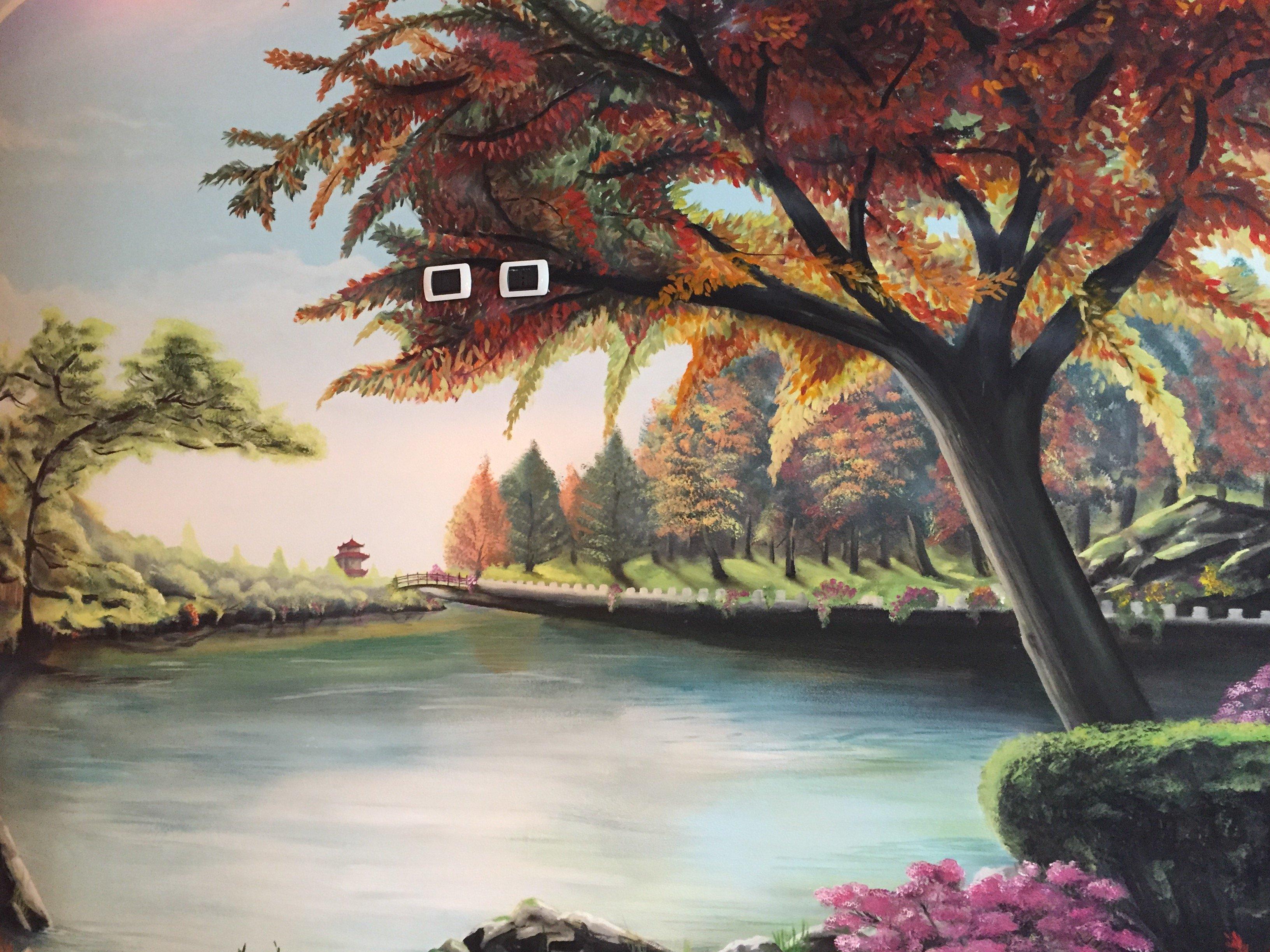 muro decorato
