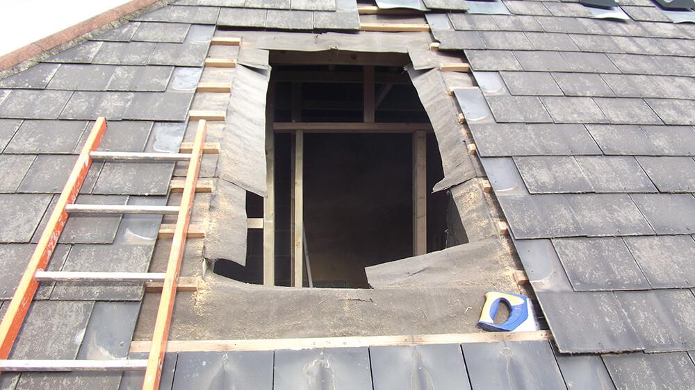 Preparation for loft window