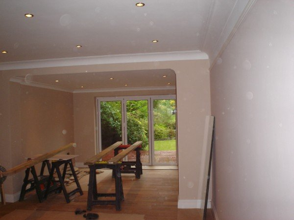 interior of a home after refurbishing