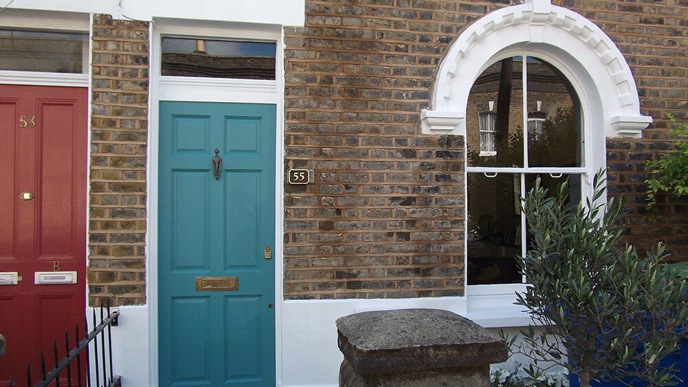 External pointing & decorating