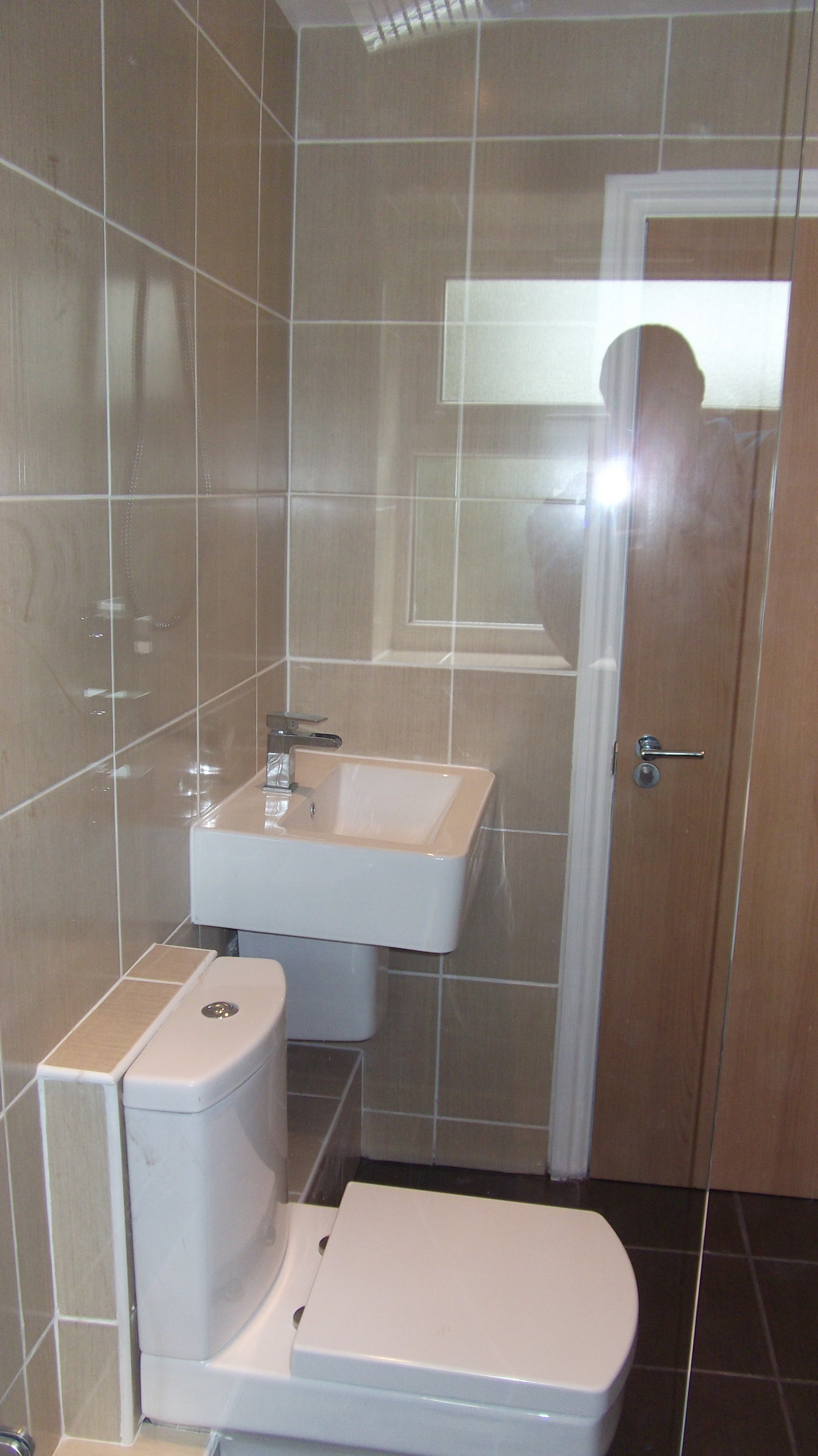 completed refurbished bathroom