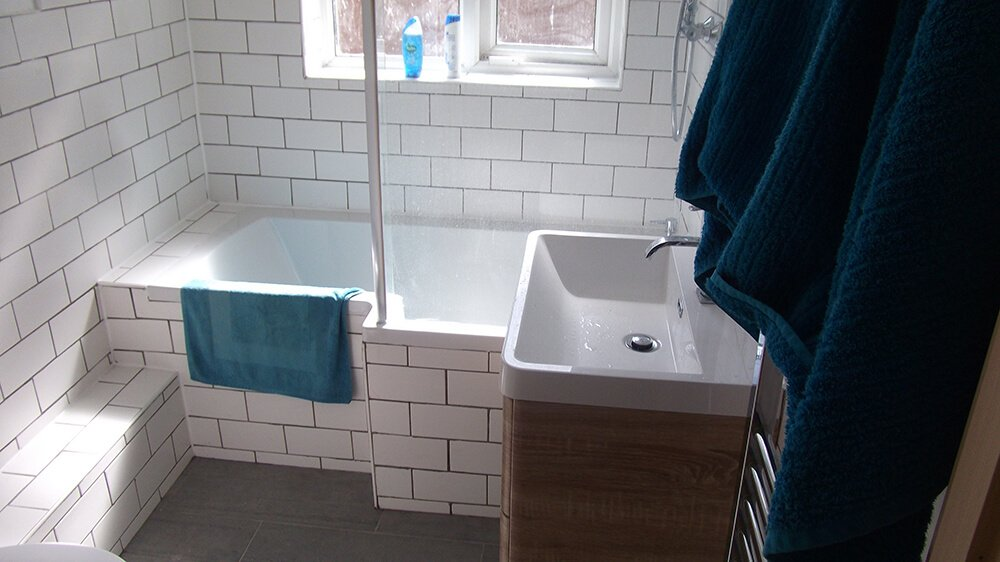 photo of a bathroom after renovation