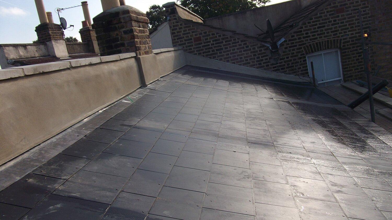 rebuilt roof