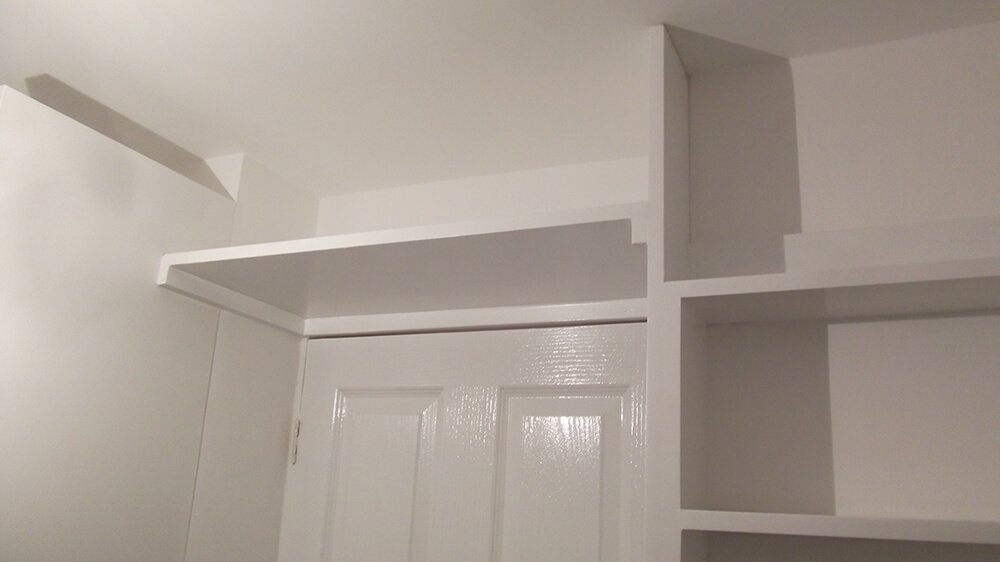 carpentry work done by the Stone Beauty team