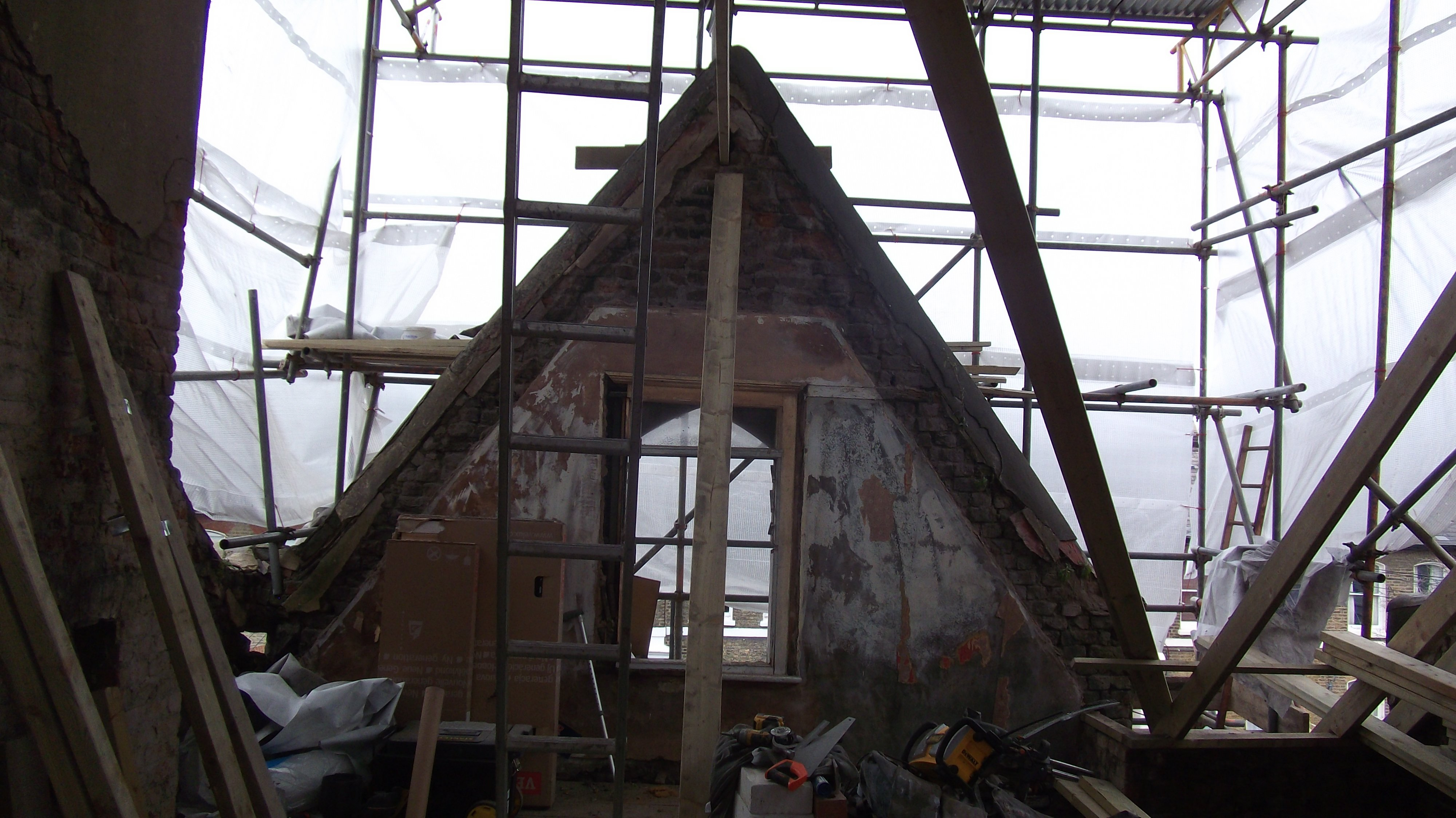Renovation of roof