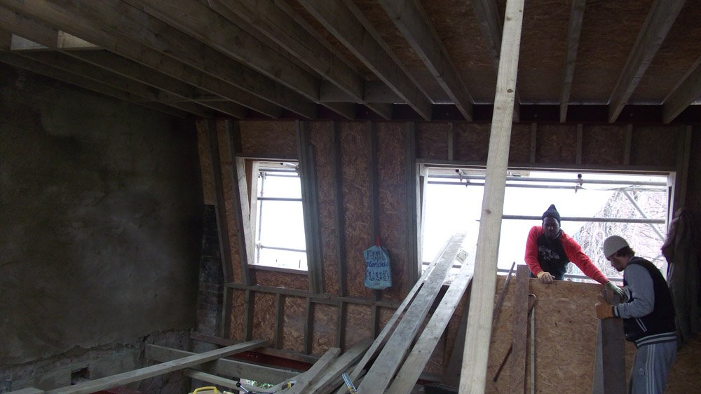 Making of loft with ensuite