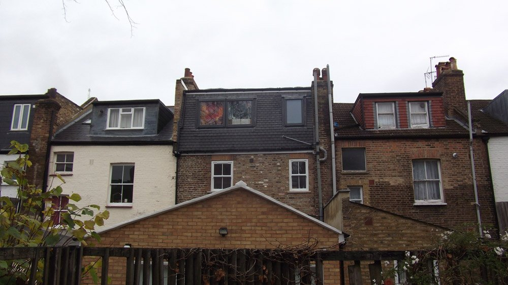 house exterior after refurbishing with loft conversion & new extension