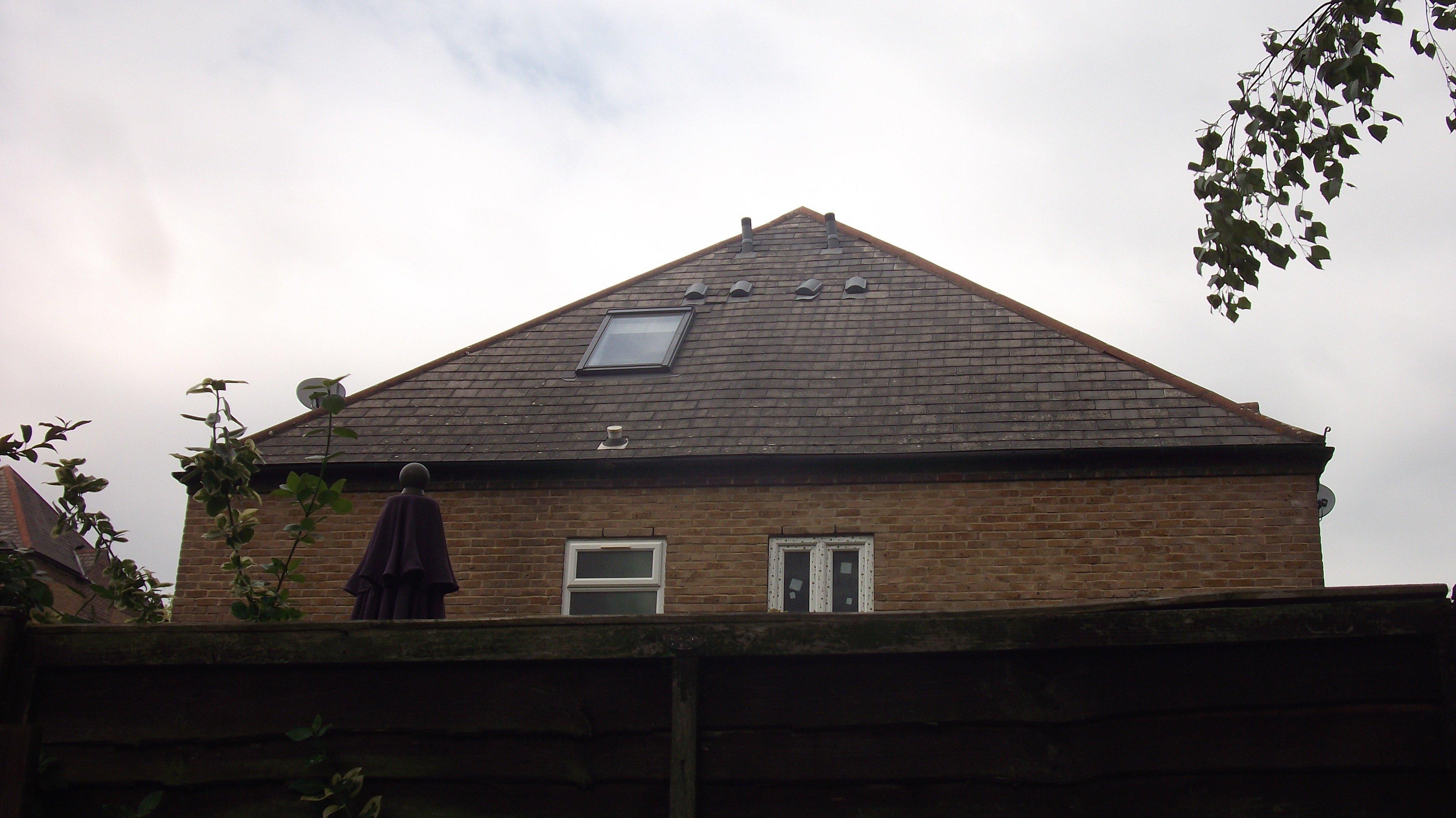 External completed loft window