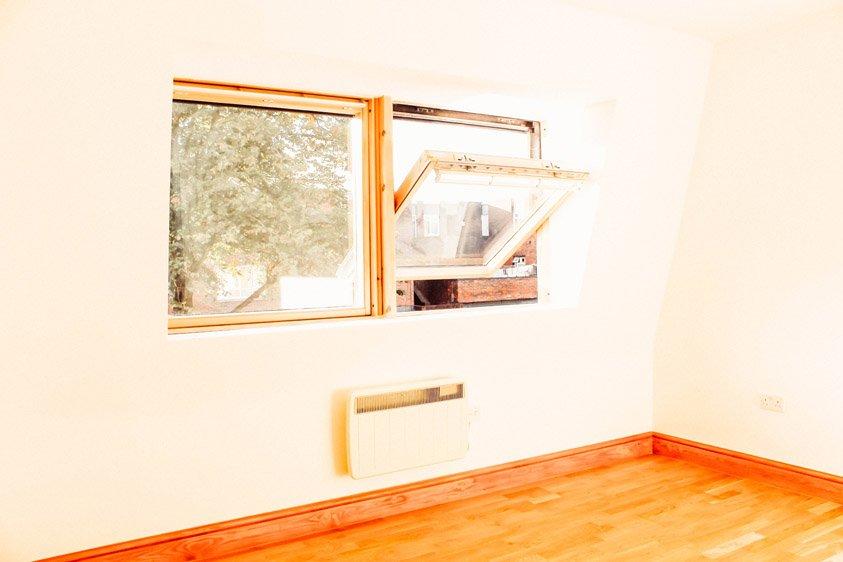 Completion of loft space back room