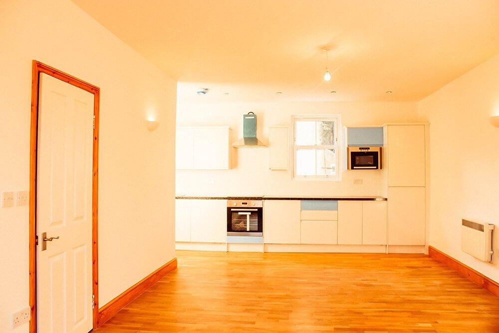 home interior after refurbishing