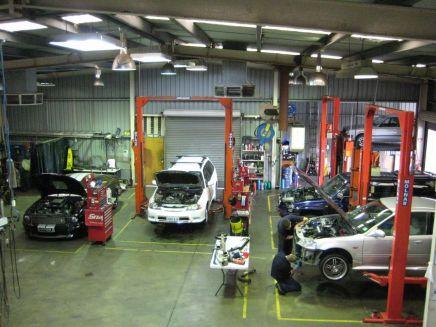 Service workshop