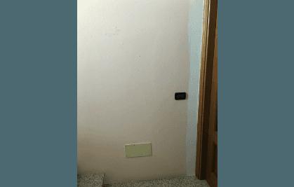 parete impermeabilizzata resina