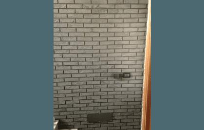 mattoni rivestiti resina