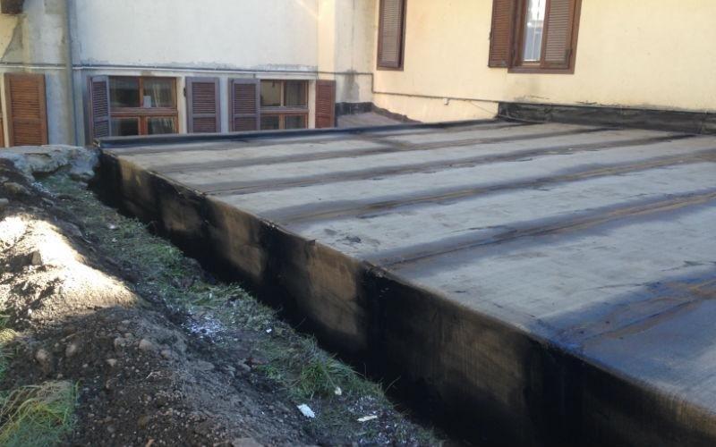 rivestimento copertura tetto