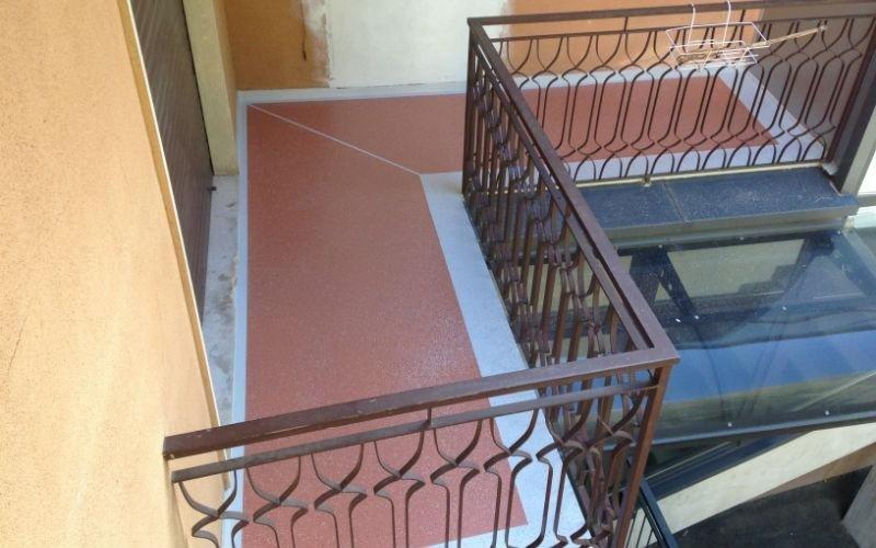 impermeabilizzazione balcone privato