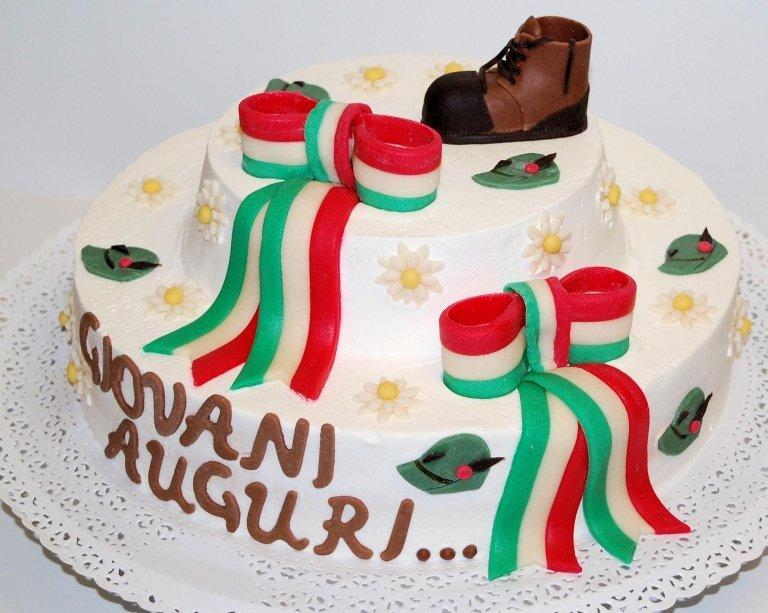Torta Alpini