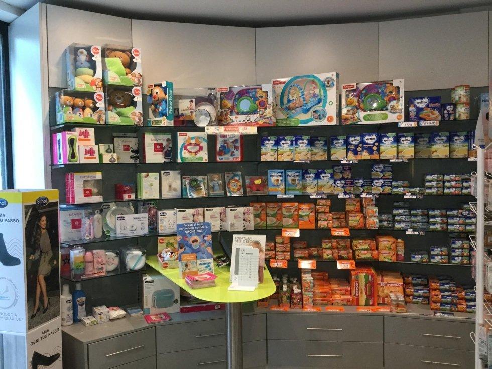 reparto prodotti per l'infanzia