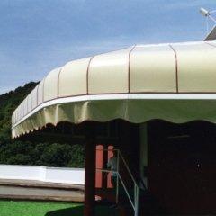 montaggio tende esterno