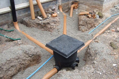 Drainage and groundworks by Creative Drives Ltd