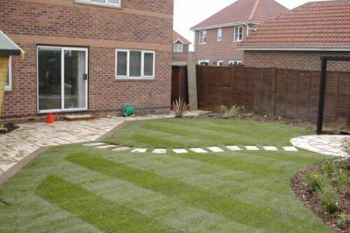 Garden turfing by Creative Drives Ltd