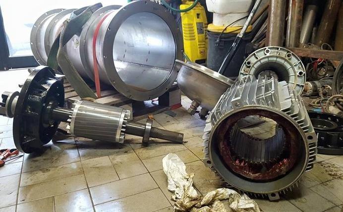 riparazione pompe per fognature