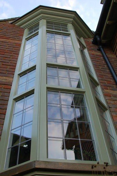 multi-storey building windows
