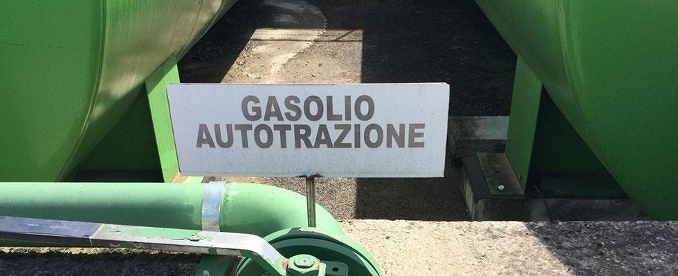 Gasolio per autotrazione in Casentino