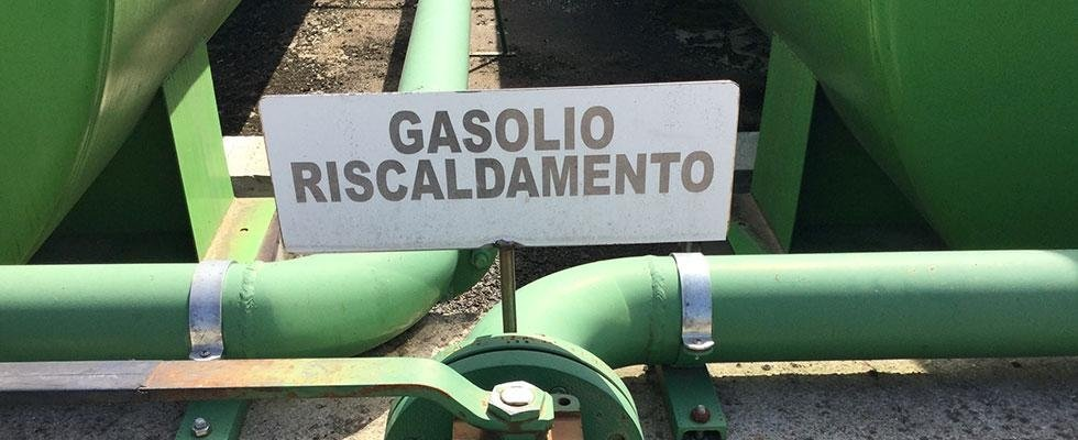 fornitura gasolio per riscaldamento