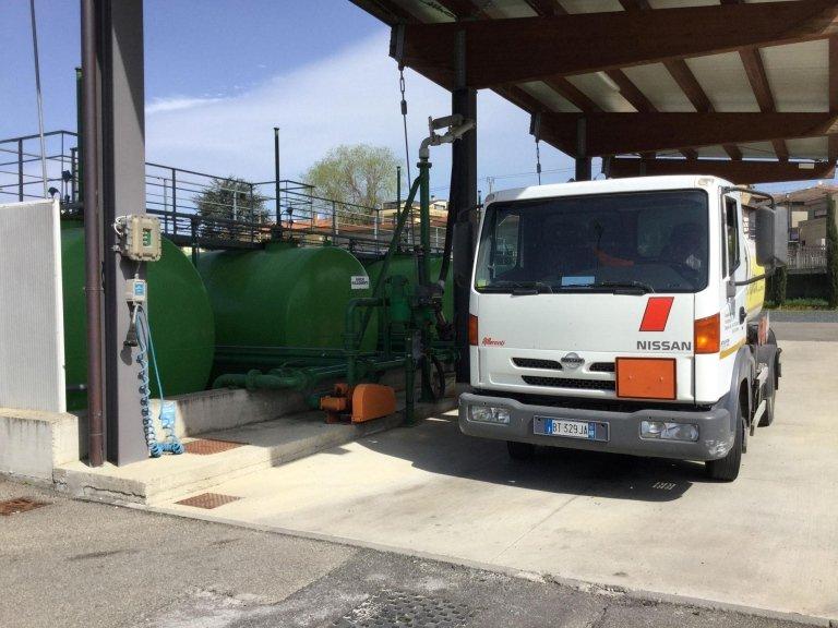 impianto distribuzione gasolio casentino services