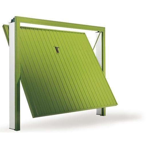 porta basculante zink