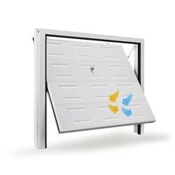 Porta basculante plana quadra