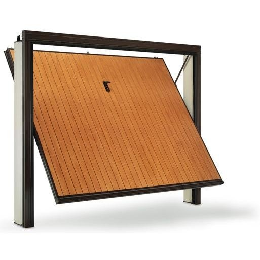 porta basculante verticale