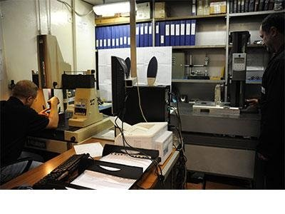 equipped metrology room