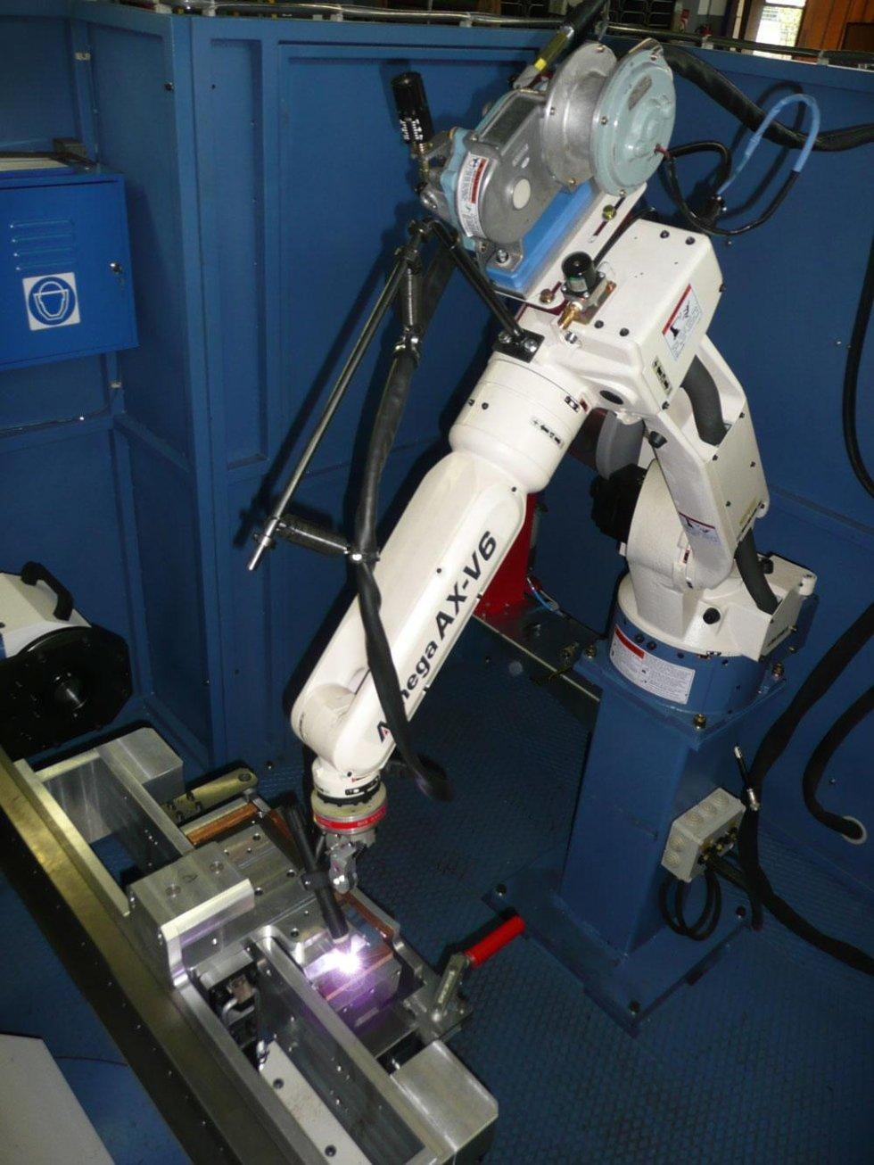 SALDATURA CON ROBOT