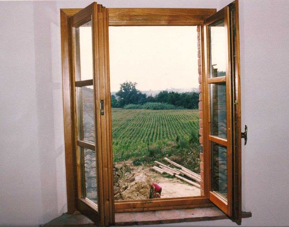 infissi in legno classico
