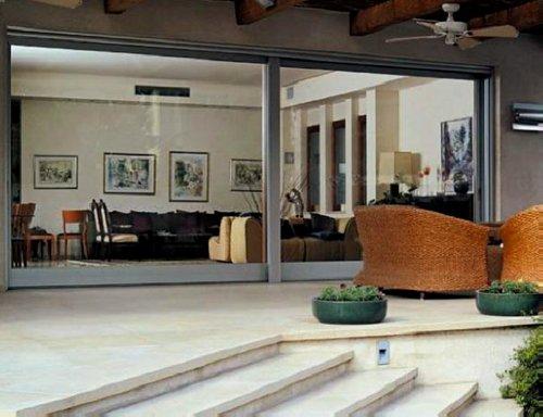 esempio di open space in casa di villeggiatura