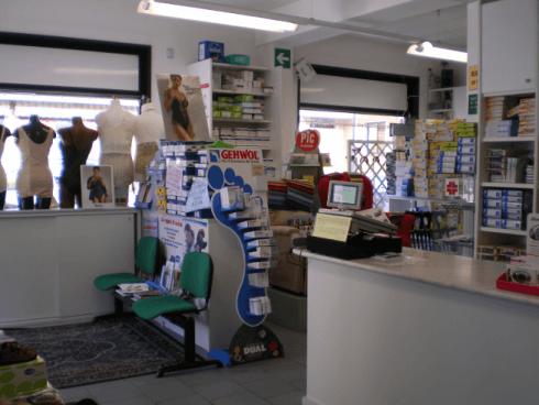 Veduta negozio interno