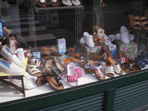 Vetrina calzature